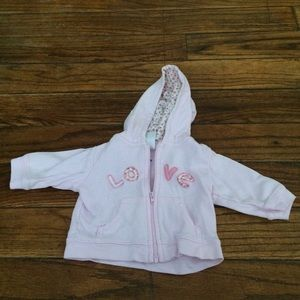 Carters Newborn Pink Jacket $17 size o -3 mouths